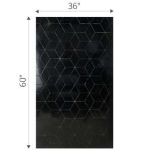 36 x 60 cultured marble shower panel