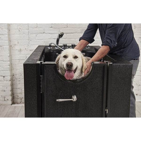 microbubble dog cleaning grooming station helps prevent common skin problems
