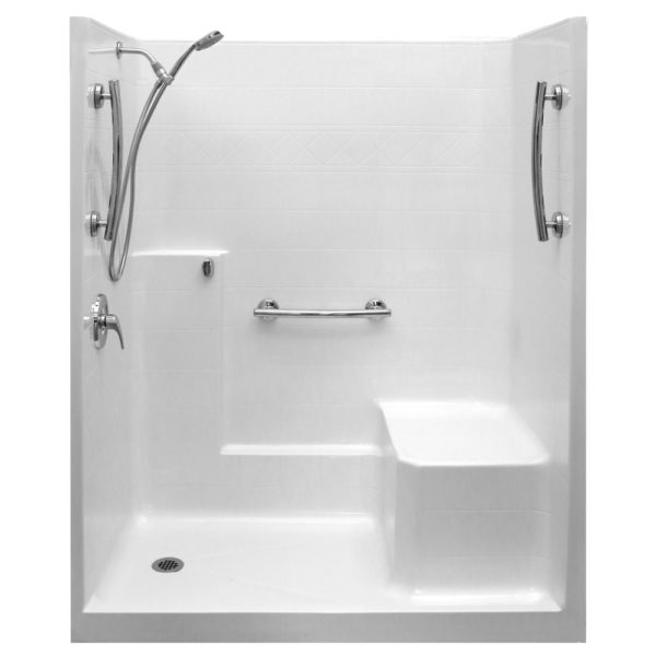 Ultimate Valve Kit Shower With Molded Seat