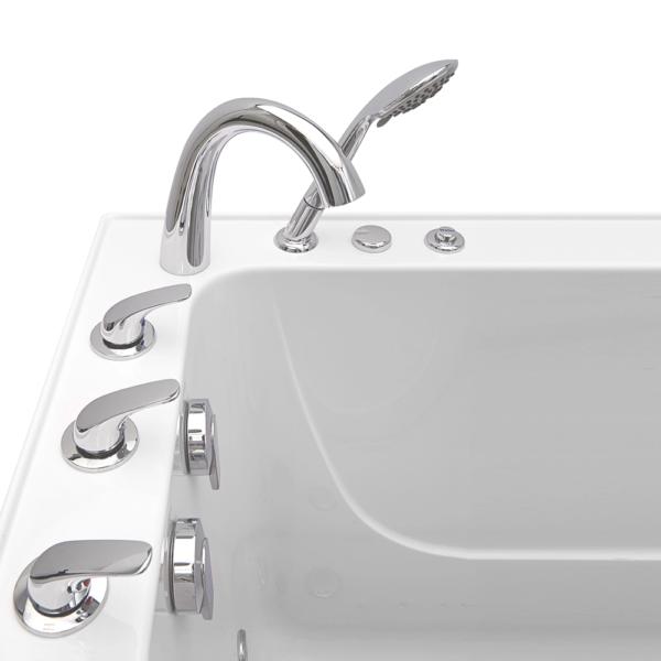 elite acrylic walk in bathtub
