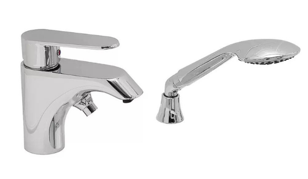 2 Piece Single Lever Fast Fill Faucet for Walk In Tubs for Handicap Elderly Disabled