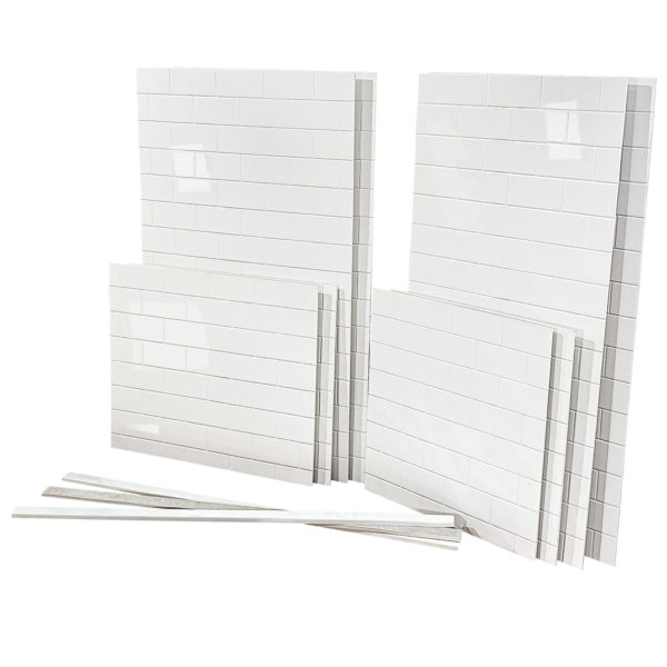 subway white cultured marble shower wall panels tile kits