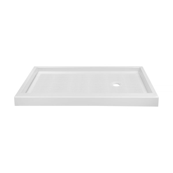 x cultured marble shower base