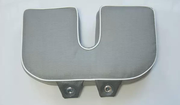 Removable Seat Pillow and Riser with Bidet Cutout for Walk In Bathtubs