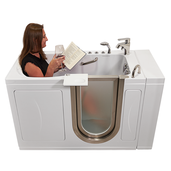 elite pc chrome hydro hydro front shot model book tray wineglass doorclosed foot massage water whiteout