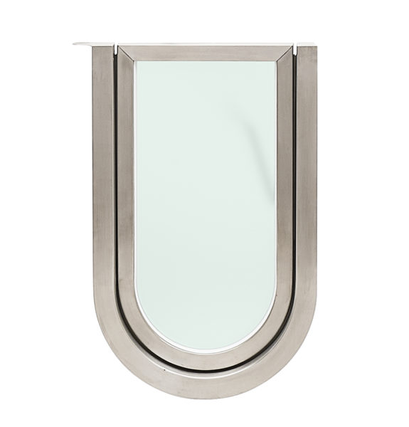 removable stainless steel door