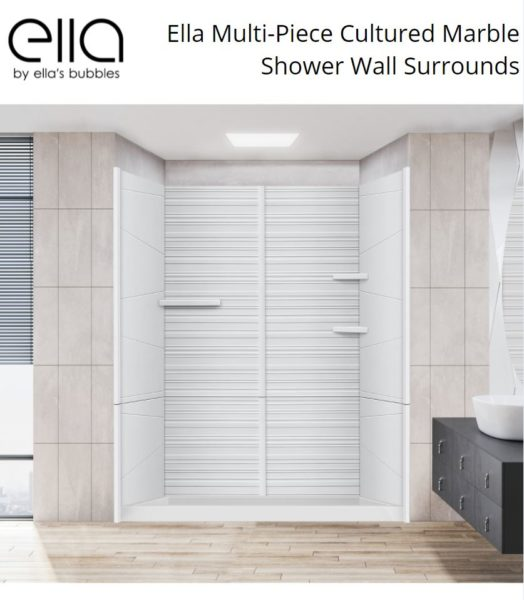 marble pc panel shower wall surround