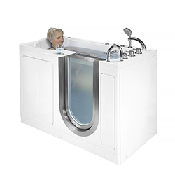 inward swing door walk in tubs for seniors