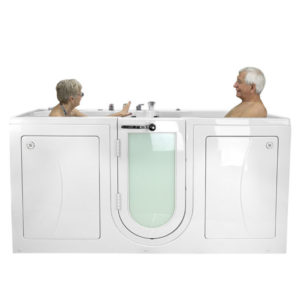 Ella Acrylic Walk In Tubs for Two | Ella\'s Bubbles