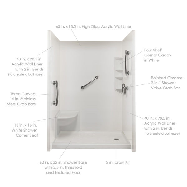 Complete Freedom Acrylic Wall Liner Package