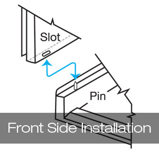 Slot and Pin